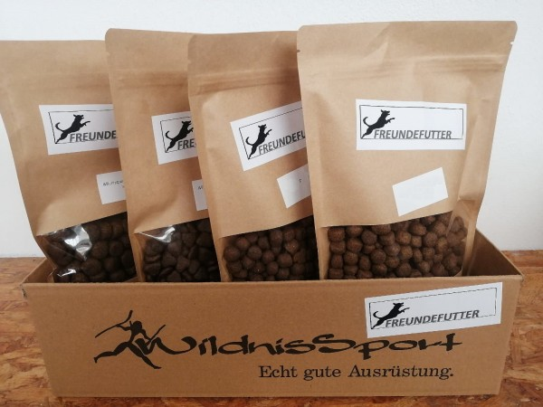 Probier-Set Normal Aktiv Hundefutter 4x300g